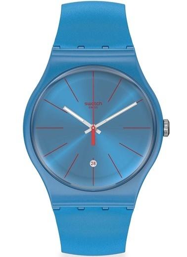 Swatch SUOS401 Erkek Kol Saati Mavi